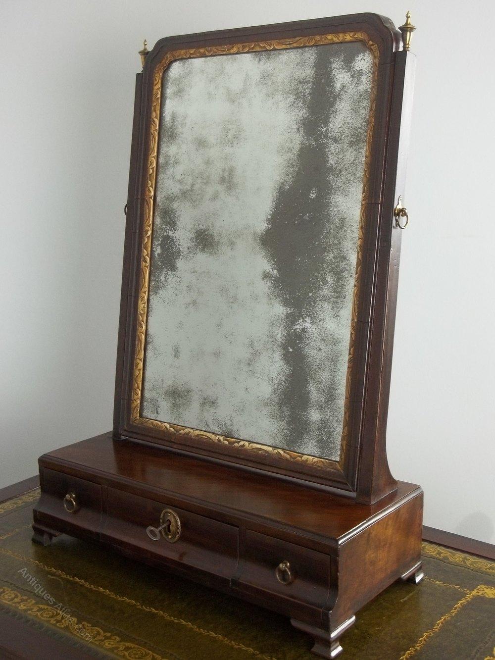 Antiques Atlas Antique Georgian Mahogany Dressing Table