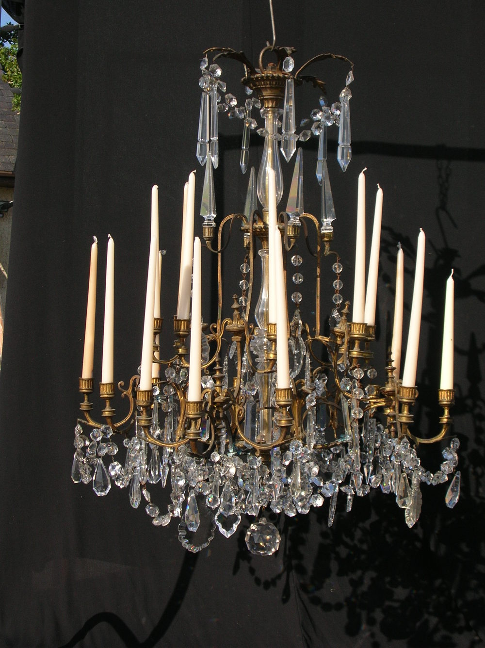 Antiques Atlas Antique 19th Century Crystal Chandelier