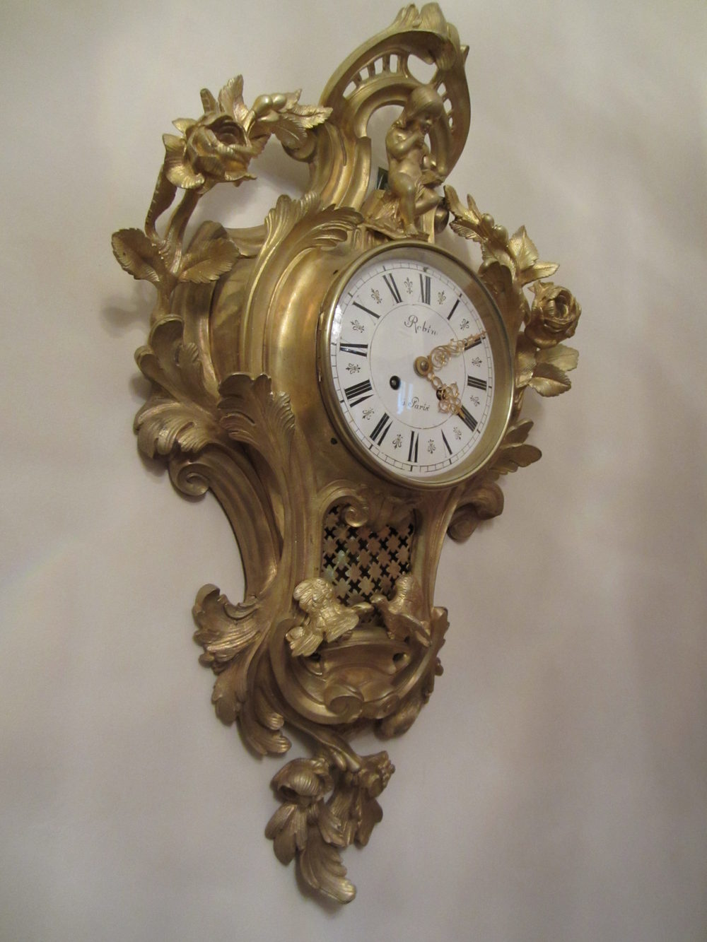 Antiques Atlas French Cartell Wall Clock