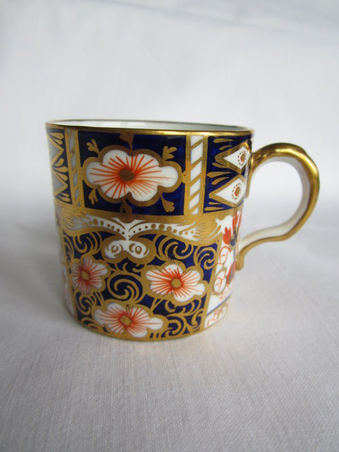 Antiques Atlas Crown Derby Coffee Can And Saucer