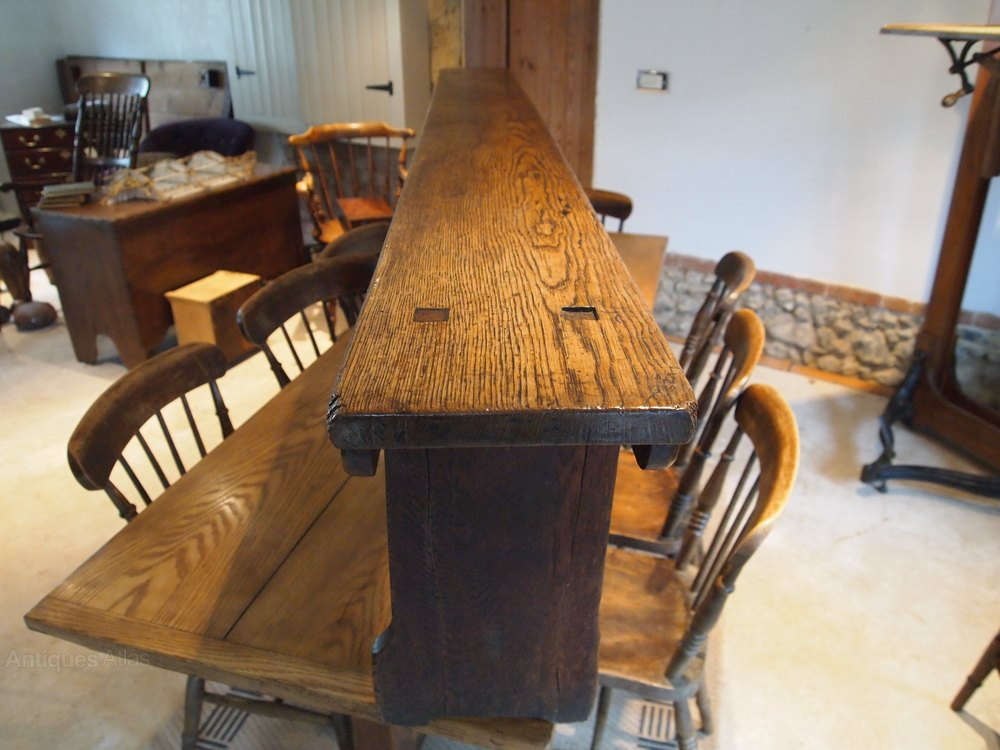 bench settle pew victorian oak langley school antiques atlas. Black Bedroom Furniture Sets. Home Design Ideas