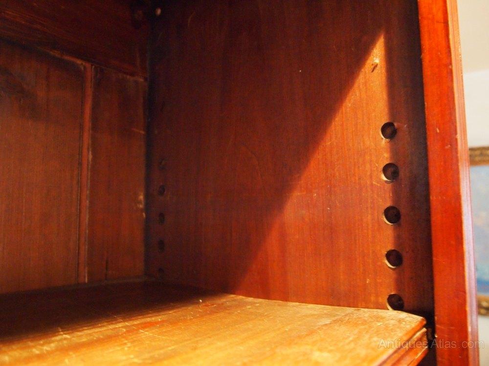 bookcase large victorian mahogany c1890 antiques atlas. Black Bedroom Furniture Sets. Home Design Ideas