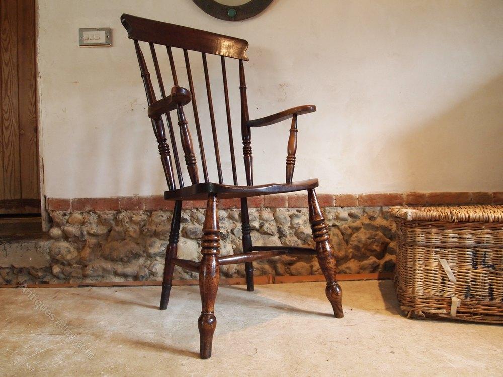 chair victorian windsor grandfather beech elm antiques atlas. Black Bedroom Furniture Sets. Home Design Ideas