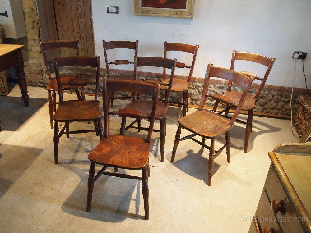 chairs 8 victorian windsor east anglian ash elm antiques atlas. Black Bedroom Furniture Sets. Home Design Ideas