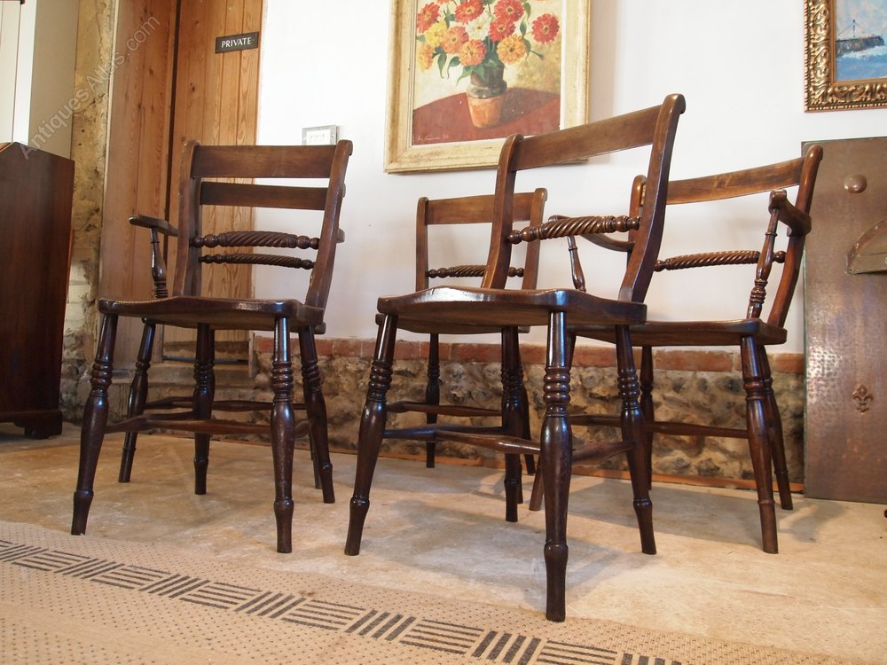 chairs five victorian kitchen dining windsor c1860 antiques atlas. Black Bedroom Furniture Sets. Home Design Ideas