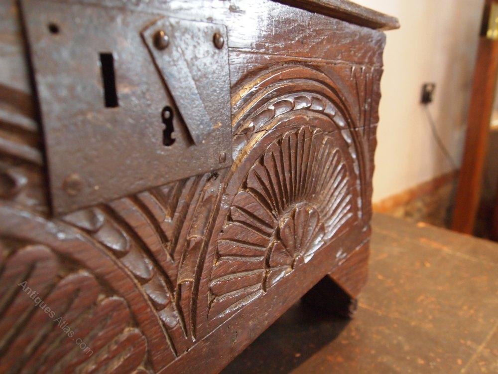 coffer rare miniature charles ii oak c1680 antiques atlas. Black Bedroom Furniture Sets. Home Design Ideas