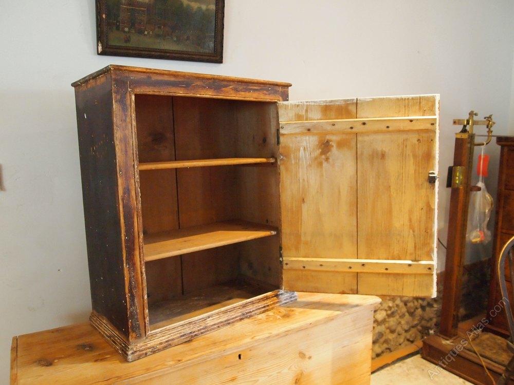 cupboard victorian pine advertising display c1880 antiques atlas. Black Bedroom Furniture Sets. Home Design Ideas