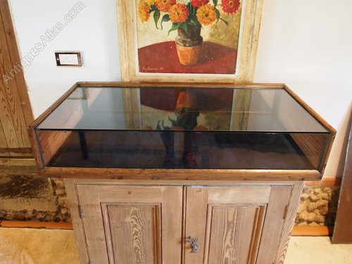 Cloverleaf Home Interiors Display Case Haderdashery Shop Victorian Display
