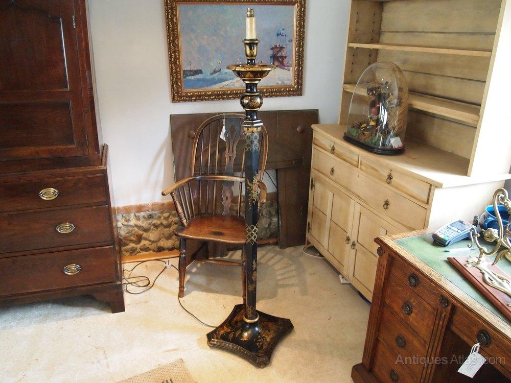 antiques atlas lamp light chinnoiserie standard lamp c1920. Black Bedroom Furniture Sets. Home Design Ideas