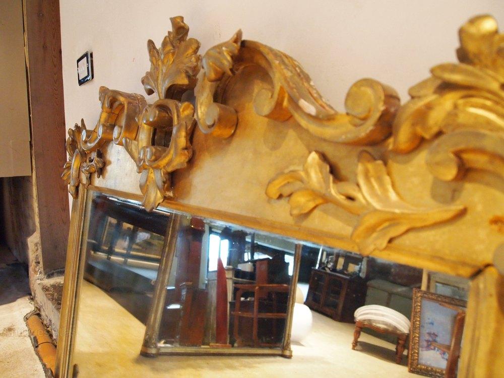 antiques atlas mirror victorian carved giltwood original plate. Black Bedroom Furniture Sets. Home Design Ideas