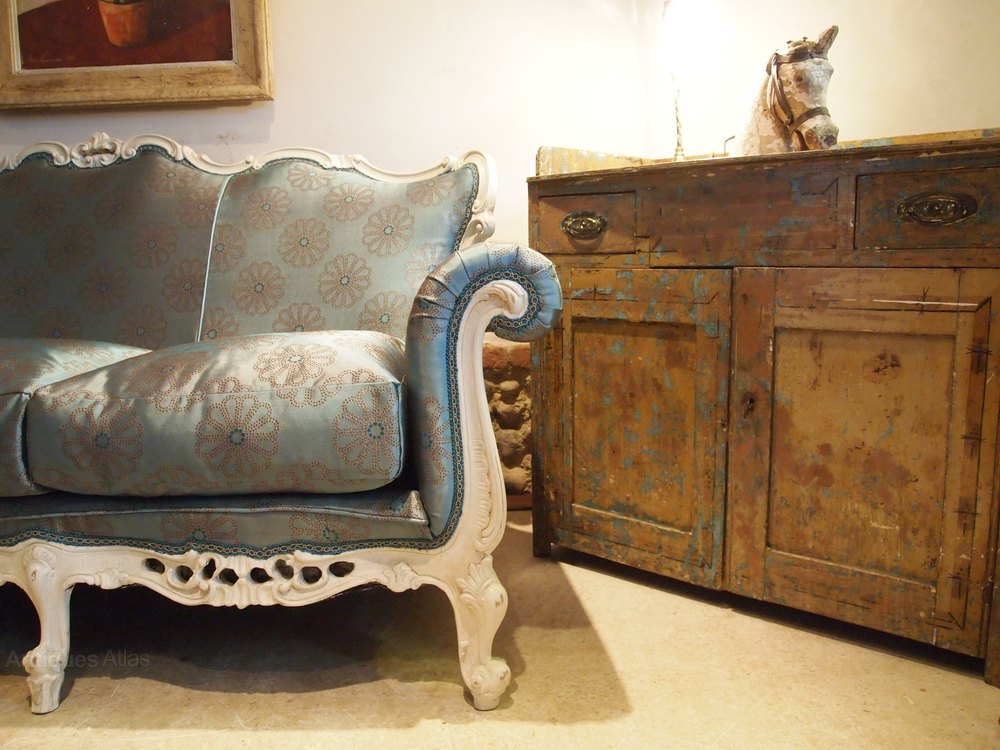 Sofa Settee Stunning Victorian Period French Antiques Atlas