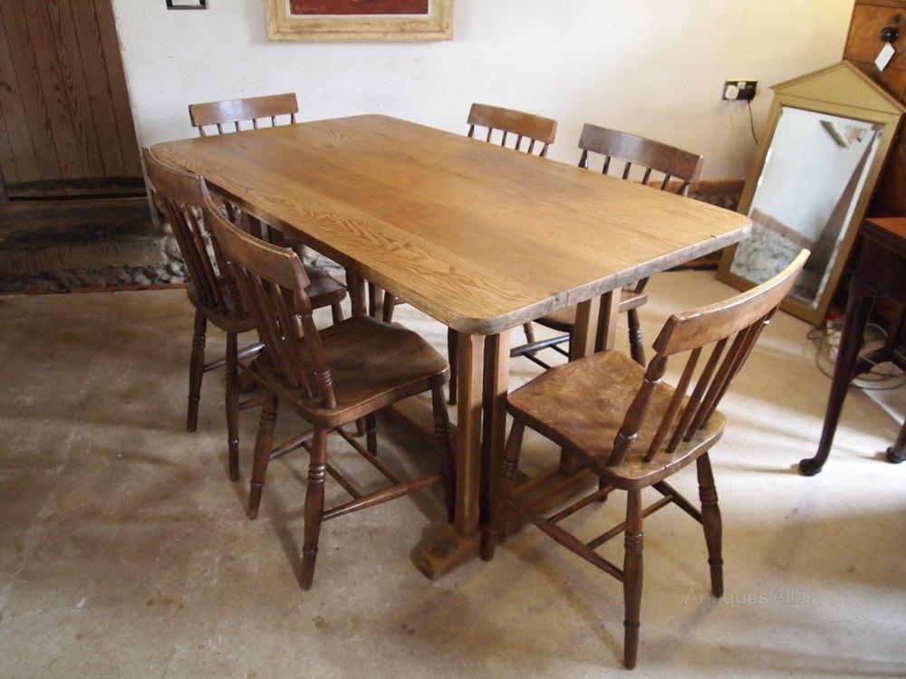 Table Oak Refectory Dining Table C1920 Antiques Atlas : TableOakrefectorydiningtabas274a086z 2 from www.antiquesatlas.com size 1000 x 750 jpeg 122kB