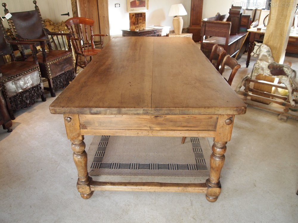 Table Victorian Norfolk Refectory Farmhouse Table Antiques Atlas