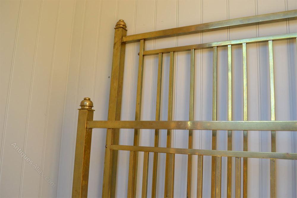 Maple Amp Co Edwardian Brass Bedstead Bed Antiques Atlas