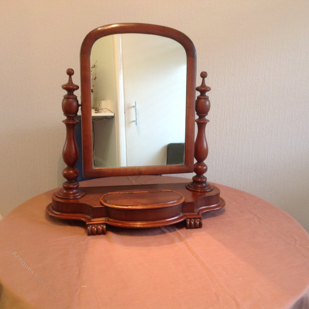 Antiques atlas victorian dressing table mirror for Dressing mirror