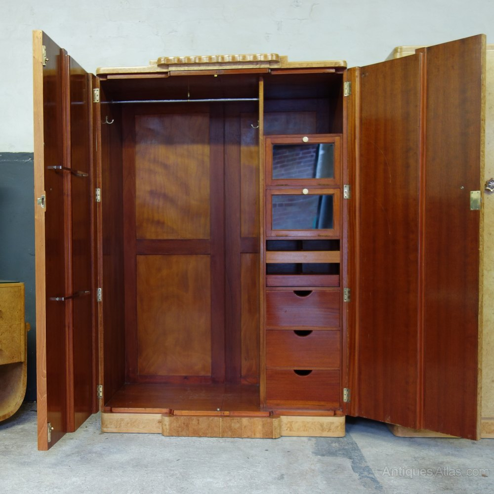 Art Deco 8 Piece Bedroom Suite By H&L Epstein
