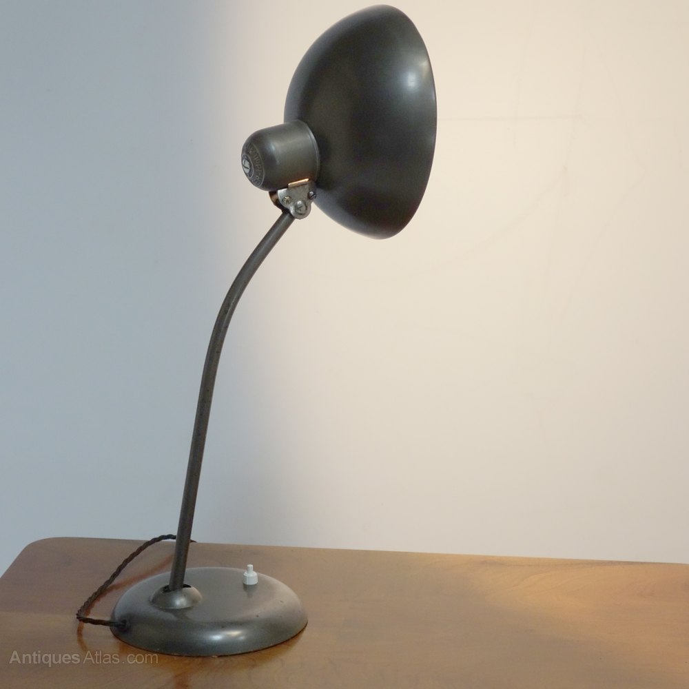 Antiques Atlas Art Deco Bauhaus Desk Lamp Circa 1930