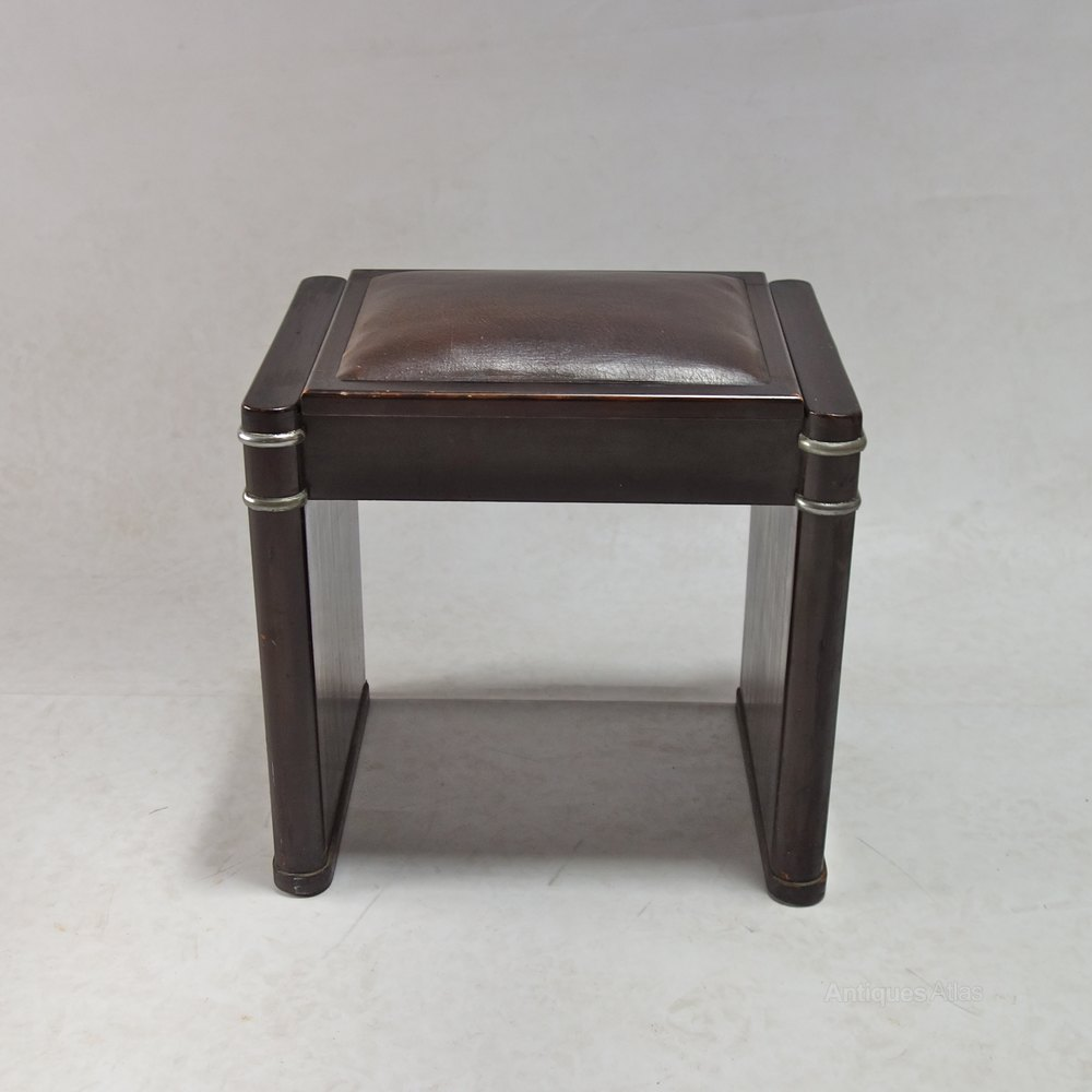 ... Art Deco Stool ... & Art Deco Mini Eavestaff Piano Stool In Walnut C1930 - Antiques Atlas islam-shia.org