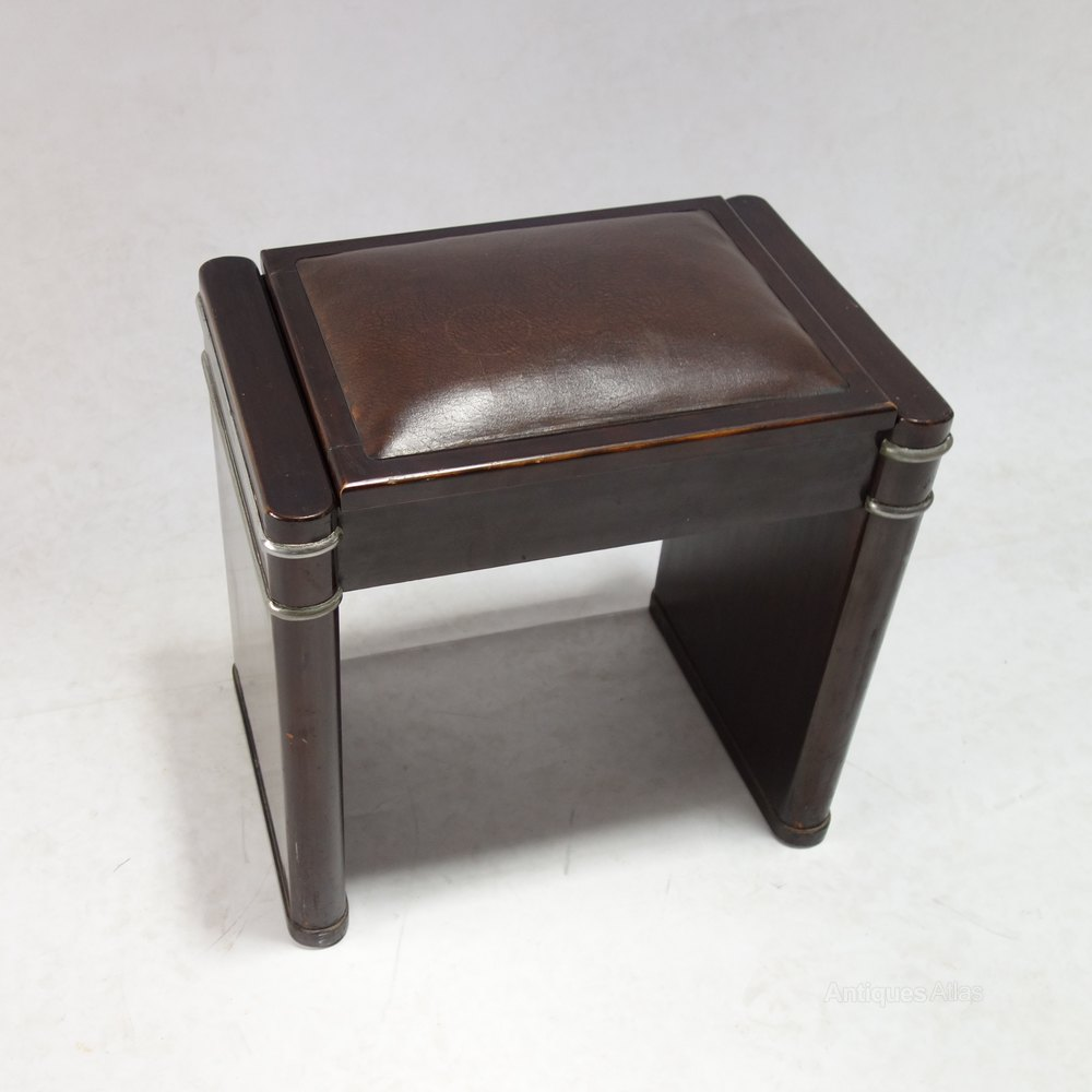 ... Art Deco Stool %%alt5%% & Art Deco Mini Eavestaff Piano Stool In Walnut C1930 - Antiques Atlas islam-shia.org