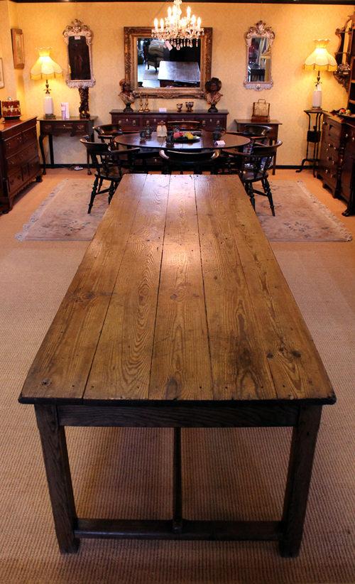10 Long Pine Amp Oak Refectory Table Antiques Atlas