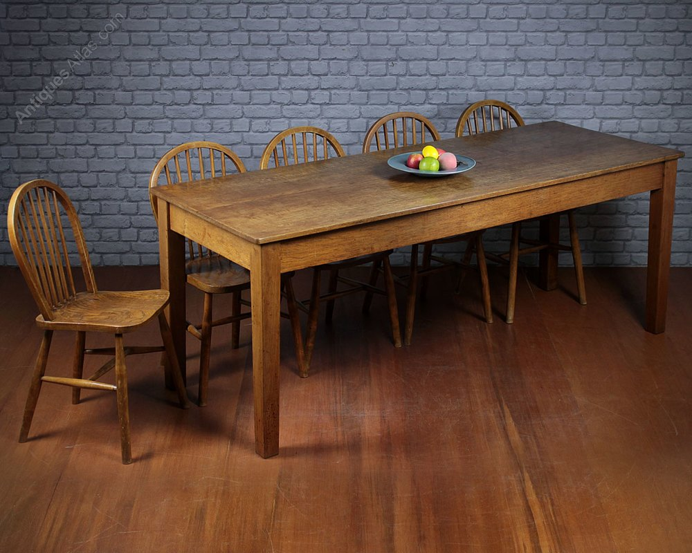 10 seater kitchen dining table antiques atlas - Seat kitchen table ...