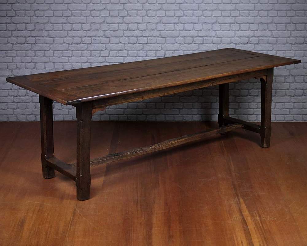 18th C Farmhouse Dining Table Antiques Atlas