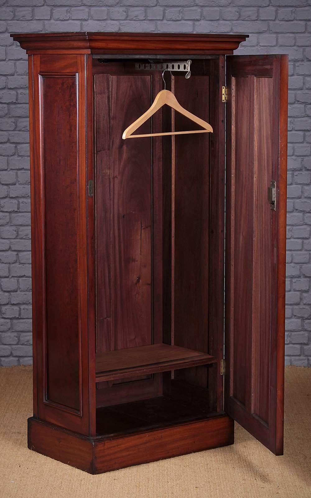 Mahogany Cloak Cupboard Or Child S Wardrobe Antiques Atlas