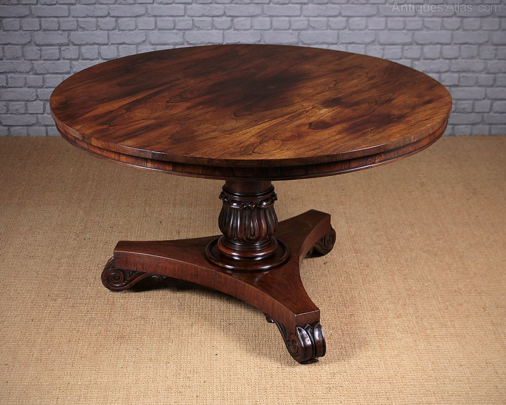 19thc Regency Rosewood Breakfast Dining Table Antiques  : 19thcRegencyRosewoodBreakfaac049a4315z 1 from antiques-atlas.com size 1000 x 801 jpeg 202kB