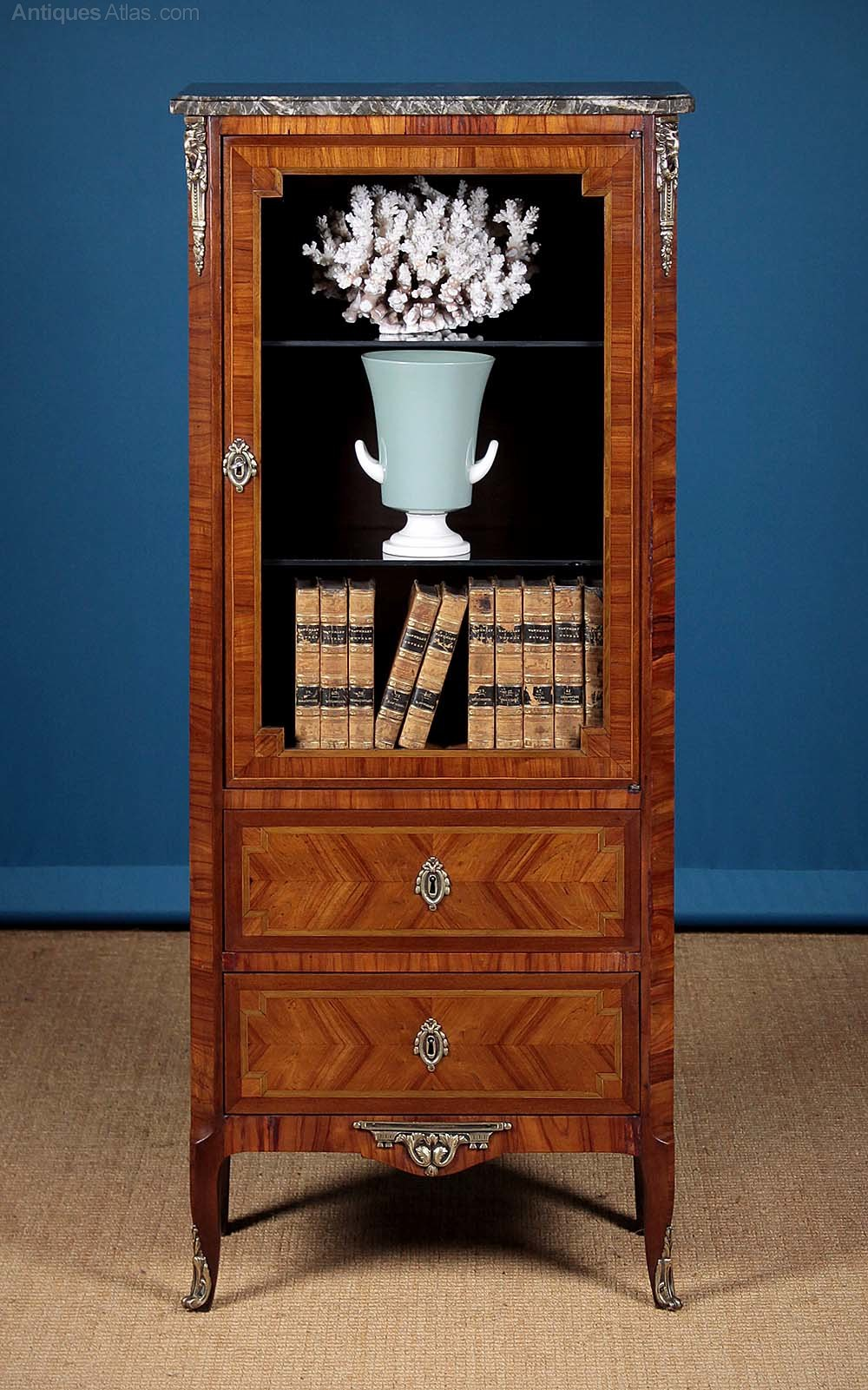 20th C French Marble Top Side Cabinet C 1910 Antiques Atlas