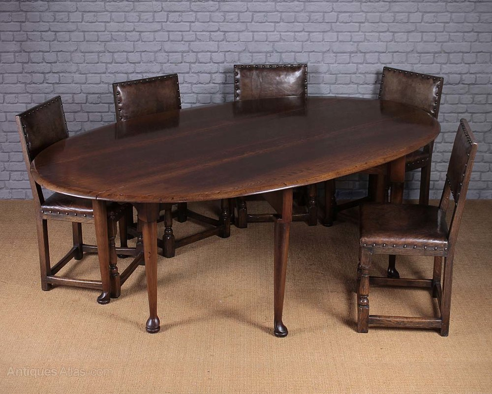 Antiques atlas 8 seater oak drop leaf dining table for 8 seater dining table