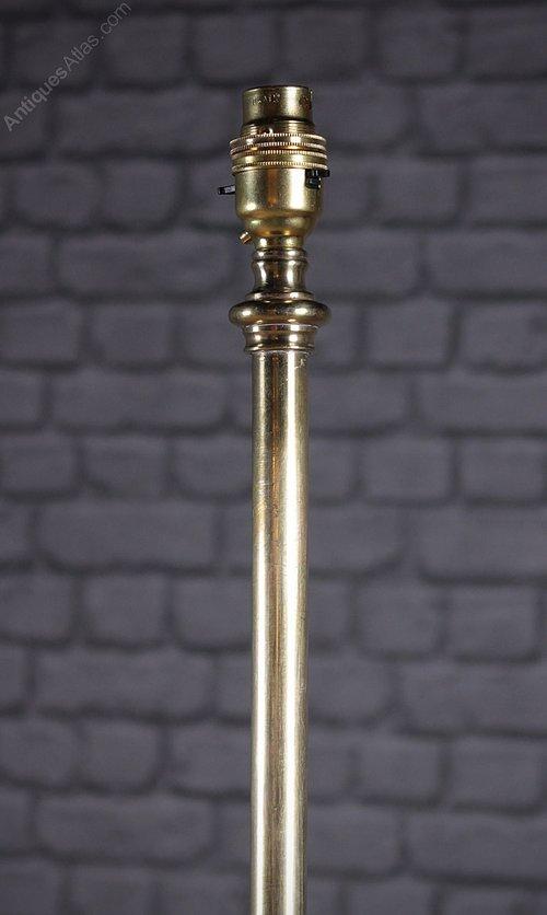 Antique floor lamp column share