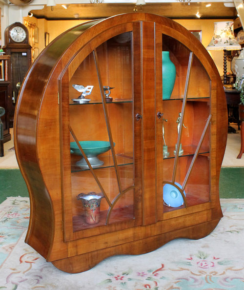 Art Deco Display Cabinet C.1930. - Antiques Atlas