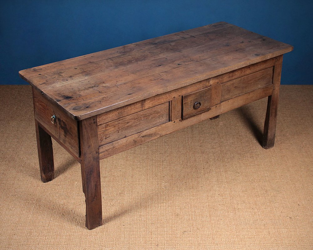 Antique kitchen work table - Early 19th C French Farmhouse Kitchen Work Table Antiques Atlas