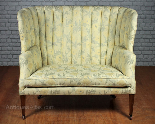 Edwardian High Back Couch C 1910 Antiques Atlas