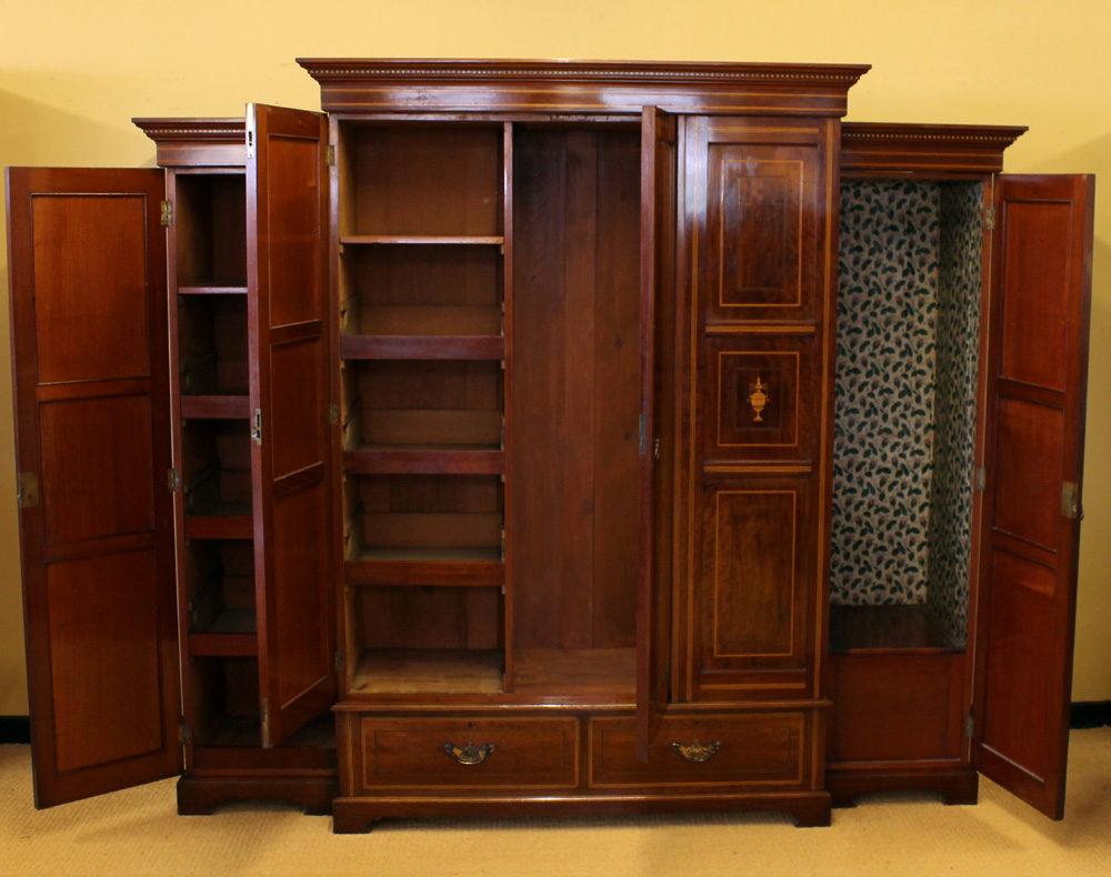 Mahogany Bedroom Suite Edwardian Mahogany Bedroom Suite C1910 Antiques Atlas