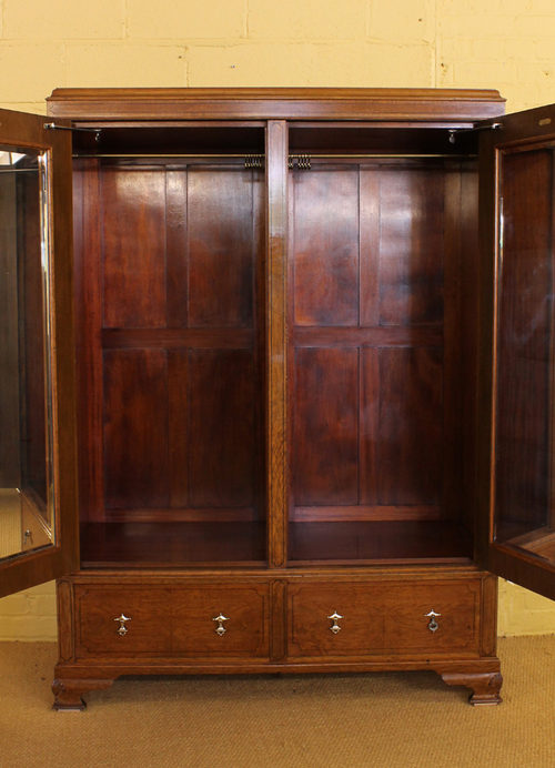 Edwardian Oak Bedroom Suite C 1910 Antiques Atlas