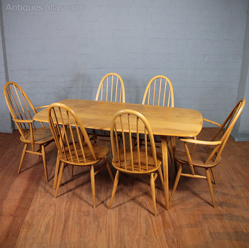Antiques Atlas Ercol Table amp Chairs : ErcolTableChairsac049a1160b from www.antiques-atlas.com size 500 x 499 jpeg 64kB