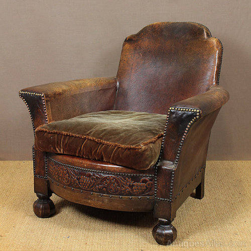 Leather Bothy Chair Antiques Atlas