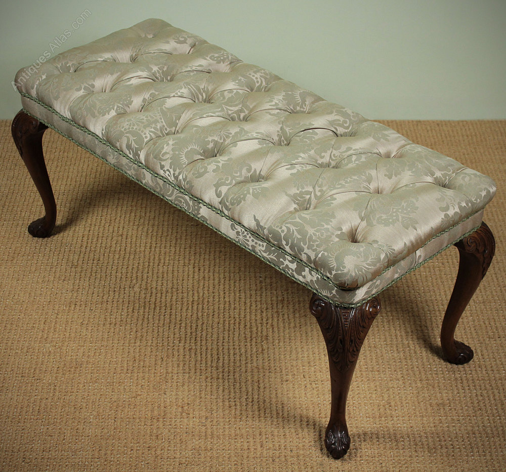 Long dressing stool antiques atlas for Dressing table long
