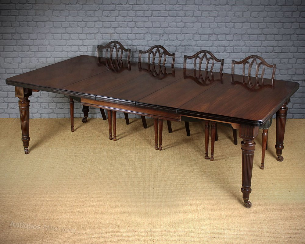 Mahogany 10 seater extending dining table for 10 seater table