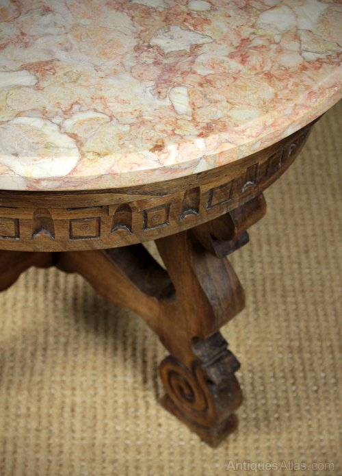 Marble Top Coffee Table Antiques Atlas