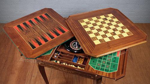Metamorphic Games Table