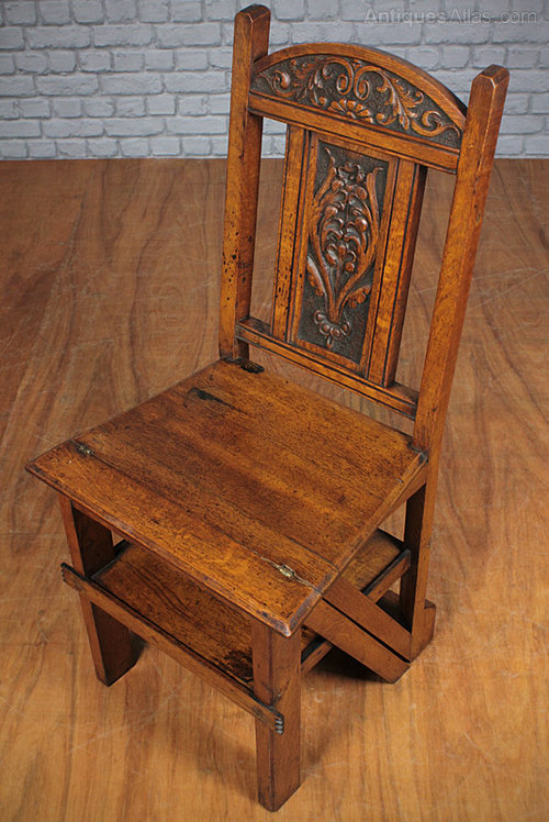 Metamorphic Side Chair Library Steps Antiques Atlas