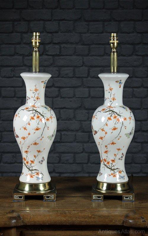 Large Vase With Lights
