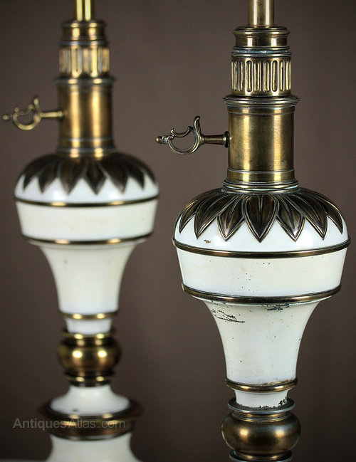 Antiques Atlas Pair Vintage Table Lamps C 1950