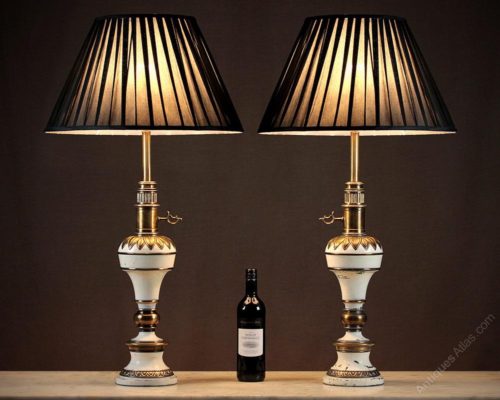 Pair Vintage Table Lamps C.1950