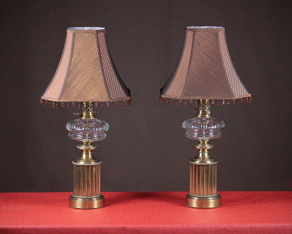 Pair Of Paul Hanson Table Lamps C.1940