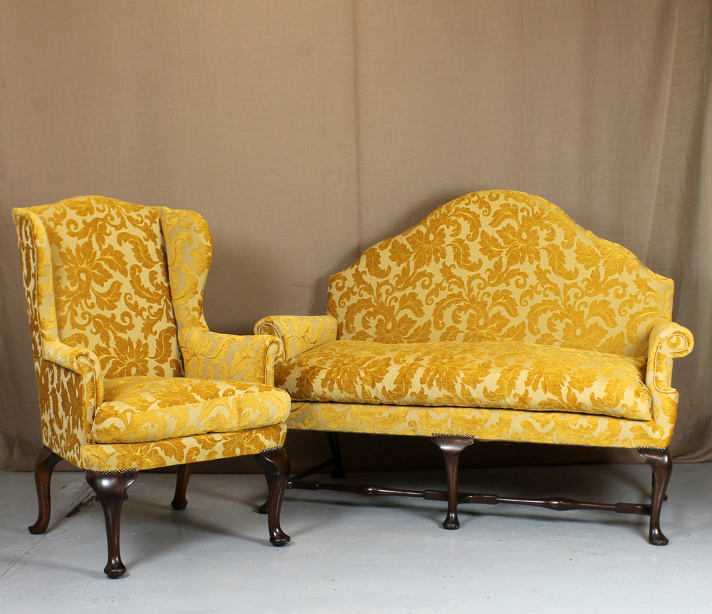 Queen Anne Sofa Armchair Antiques Atlas