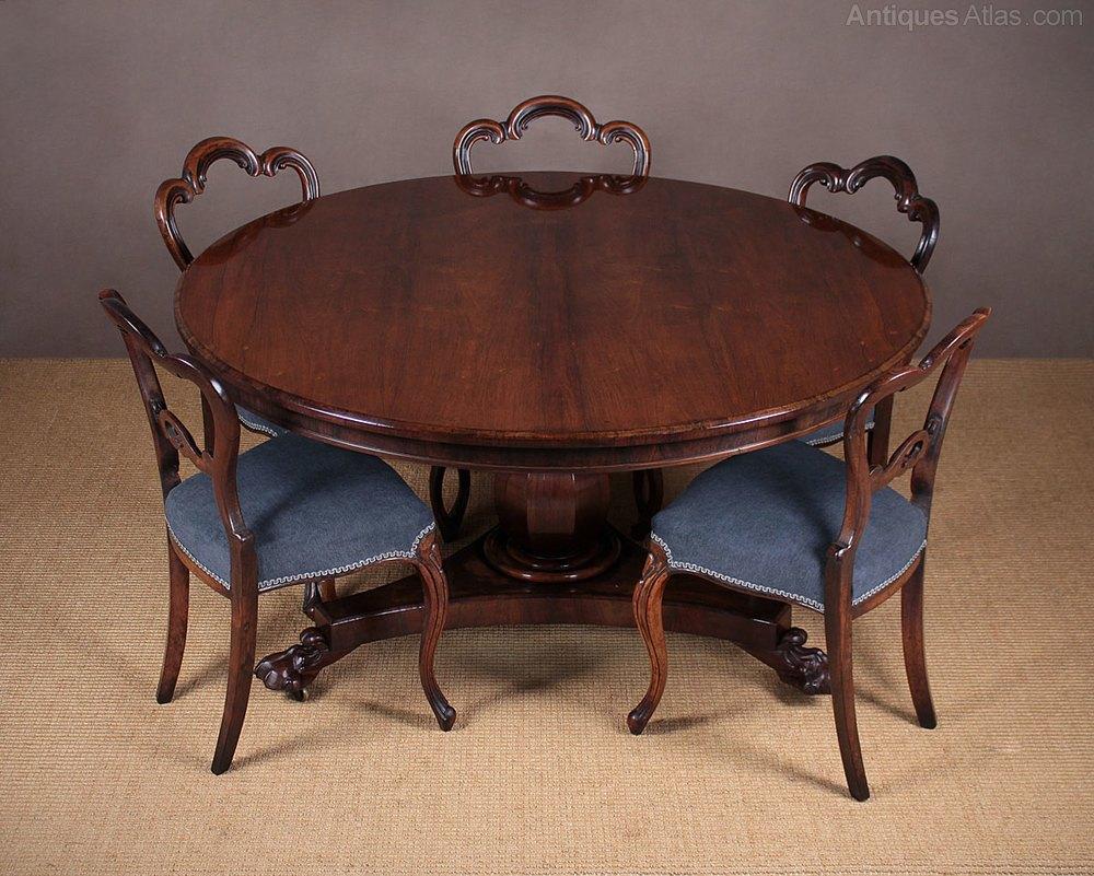 Regency Rosewood Breakfast Dining Table C1830 Antiques  : RegencyRosewoodBreakfastDinac049a4000z from www.antiques-atlas.com size 1000 x 801 jpeg 172kB