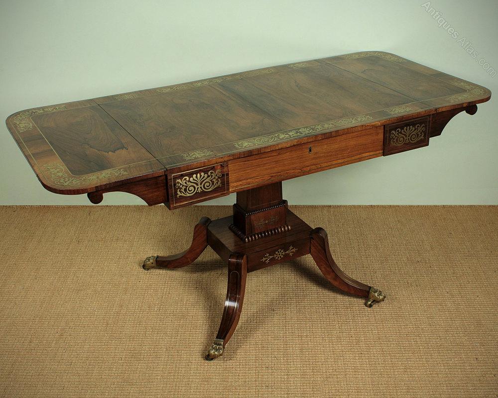 Regency rosewood sofa table c1810 antiques atlas antique sofa tables regency geotapseo Image collections